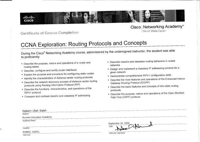 CCNA doc