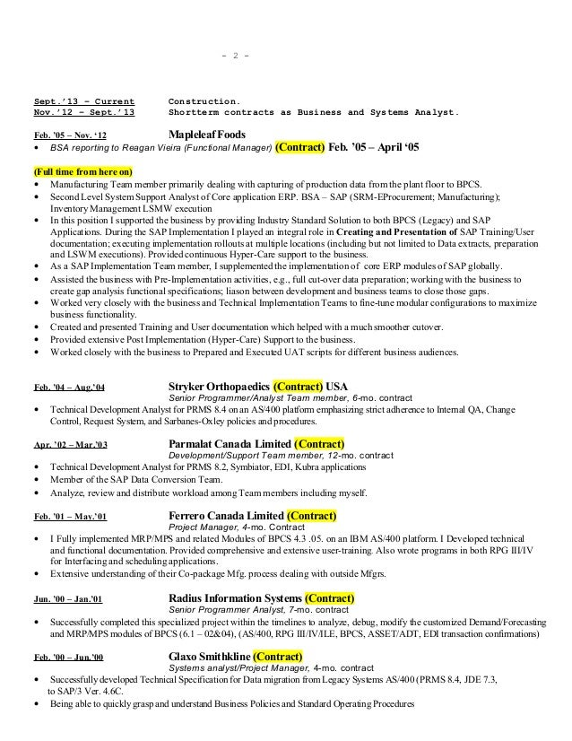 patrick chow resume  detail