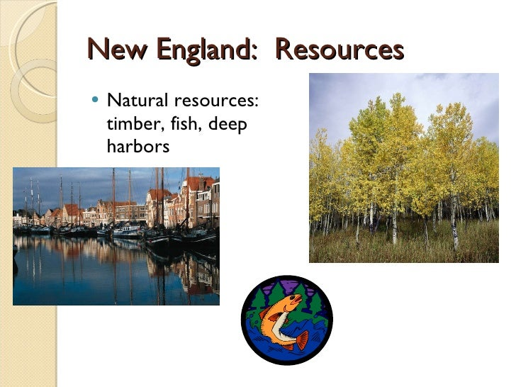 Massachusetts Products And Natural Resources