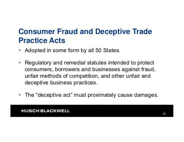 deceptive unfair trade practices Unfair business practices when statutes prohibiting unfair and deceptive business practices provide for the award restraint of trade sucker list unfair.