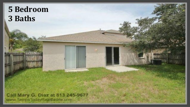 5 bedroom home for sale in cross creek new tampa fl for 5 bedroom homes for sale in florida