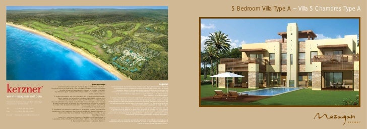 5 Bedroom Villa Type A ~ Villa 5 Chambres Type A                                                                          ...