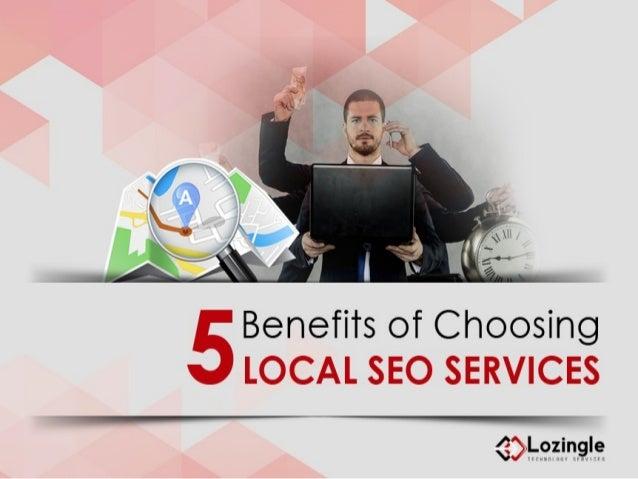 Benefits of Choosing LOCAL SEO SERVICES  €>  .-9zin.9's