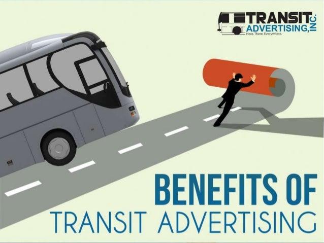 disadvantages of transit advertising