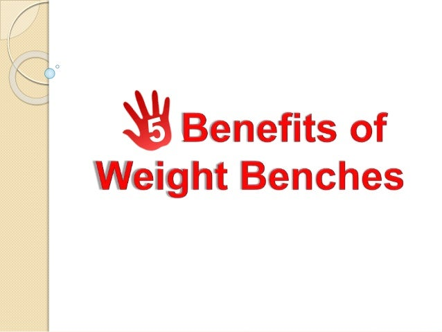 Weight benches have an important role in the exercise routine of people.