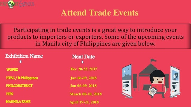 5 Best Ways to Find Importers and Exporters in the Philippines?