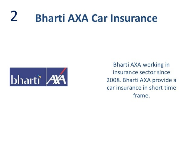 Bajaj Axa Car Insurance