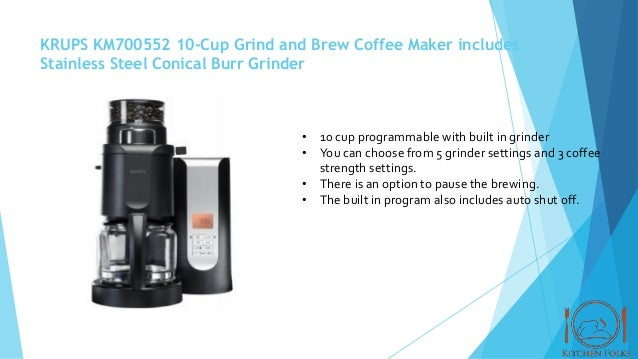 5 best coffee maker with built in grinder