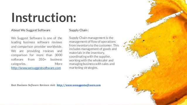 5 best open source supply chain management software
