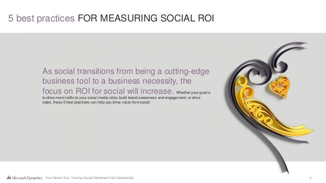 5 best practices for measuring social roi Slide 3