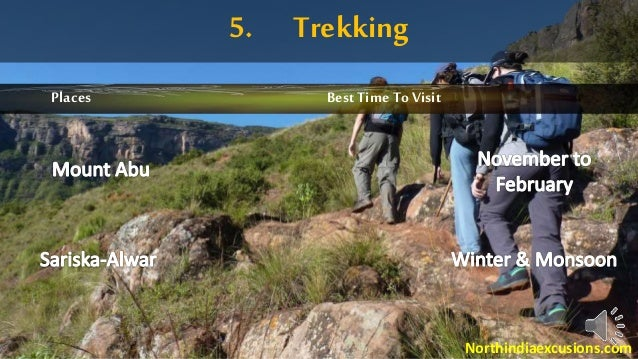 5. Trekking Places BestTime To Visit Northindiaexcusions.com