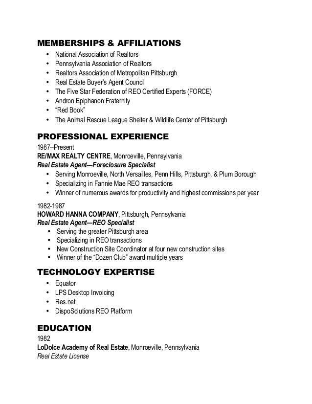 affiliation in resumes