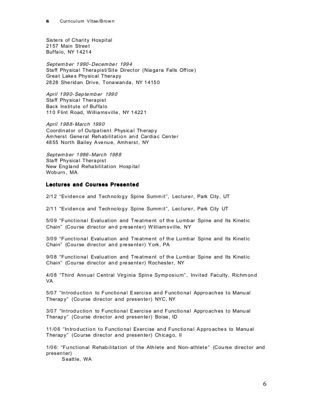 Physical Therapist Resume. Physical Therapist Resume Pdf Physical ...