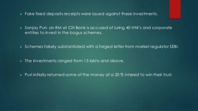 sebi regulations against harshad mehta s scam Another ponzi scheme towards total bankruptcy     or sebi's, glare sebi.