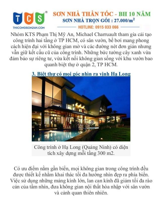 Nhóm KTS Phạm Thị Mỹ An, Michael Charruault tham gia cải tạo công trình hai tầng ở TP HCM, có sân vườn, bể bơi mang phong ...