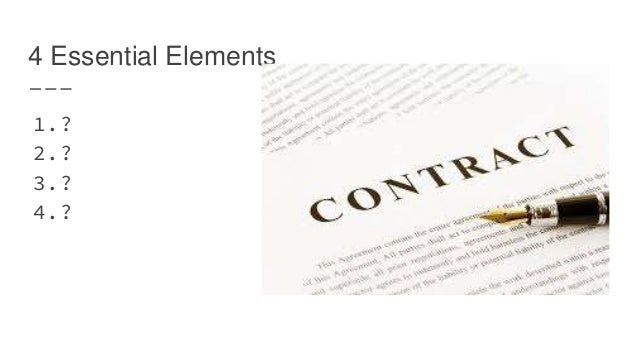 Overview of Contract Law