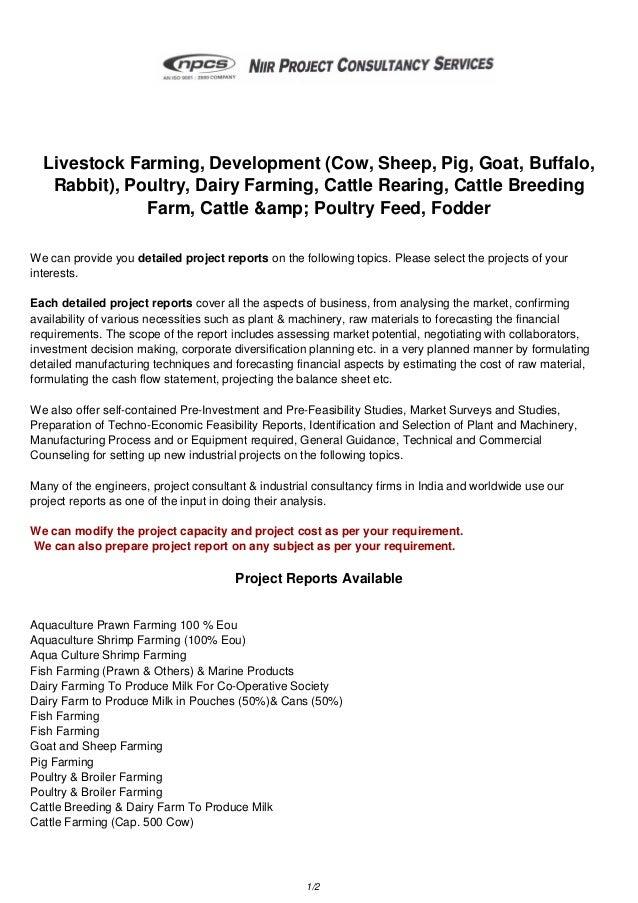 5 Bniir 5d Project List For Livestock Farming 2c