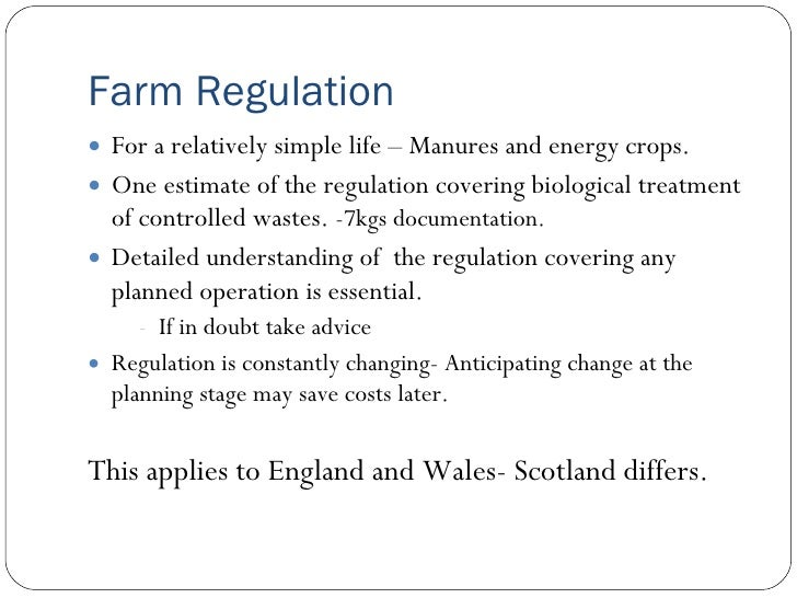 Fertiliser & Regulation - Bryan Lewens (Andigestion Ltd)