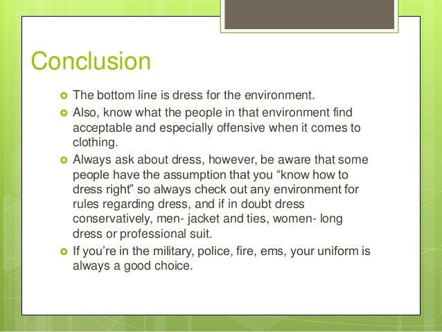 Dress Code Essay