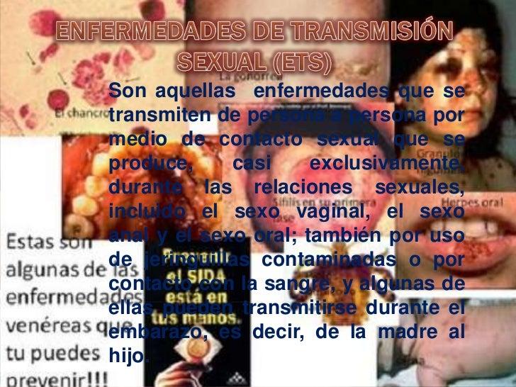 CARACTERISTICA DE LA PRINCIPALES ETS           Nombre                                    síntomas                         ...