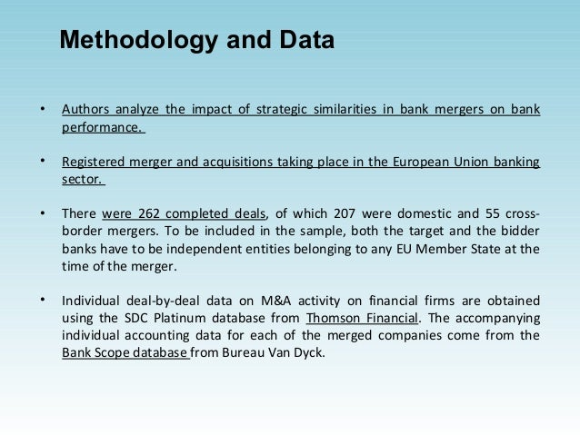 the effects of merger on bank performance in nigeria Table 21 summary of merger cases: change in performance 27 table 42:   the effect of bank mergers was recently witnessed in nigeria when mr charles.