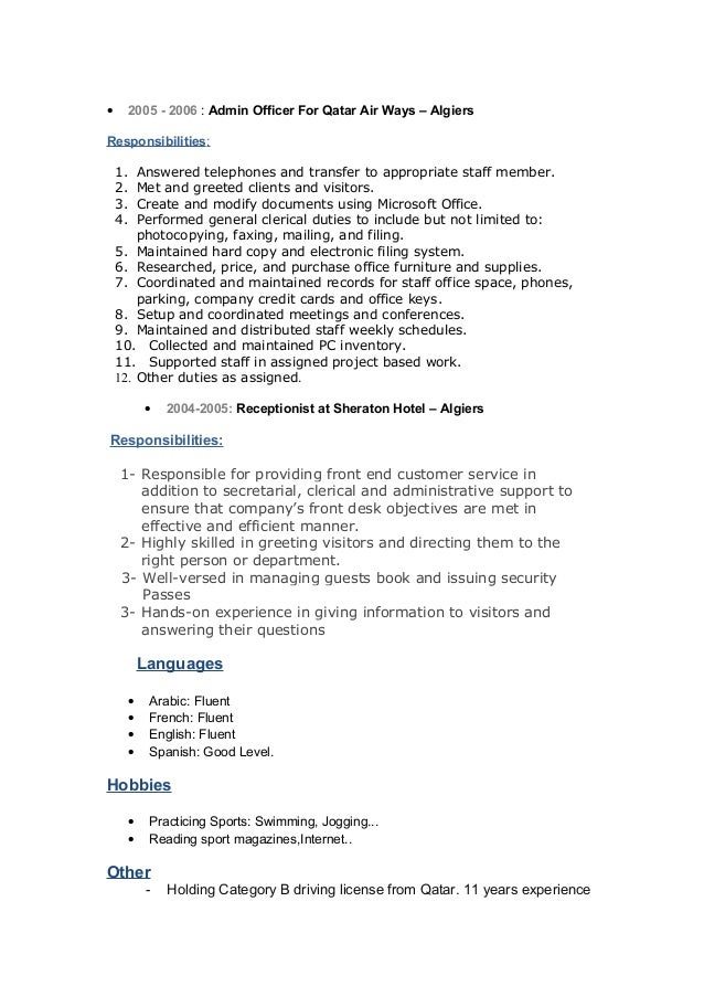 Awesome Fluent In Spanish And English Resume Pictures - Simple .