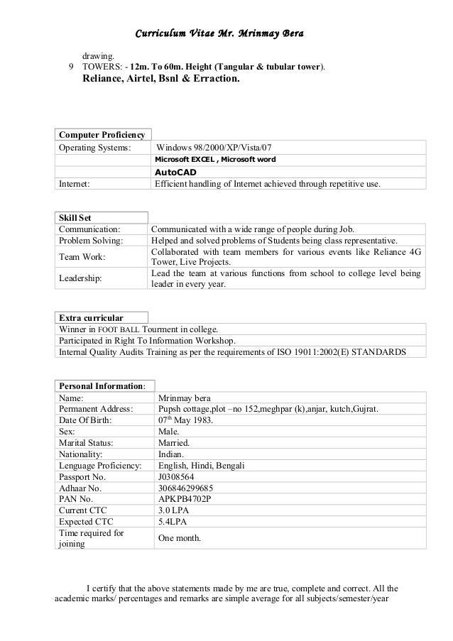 Hydro blaster resume
