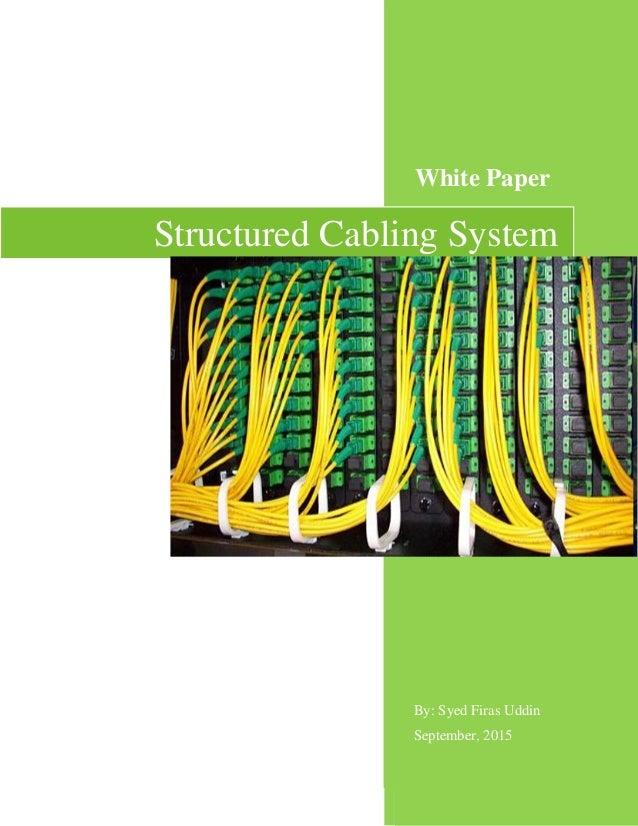 Awe Inspiring Structured Cabling Solution White Paper Wiring Cloud Brecesaoduqqnet