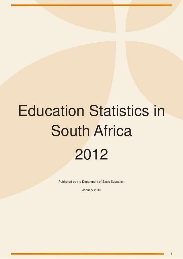 Study statistics south africa