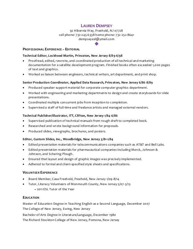 Professional Resume Writers Princeton Nj