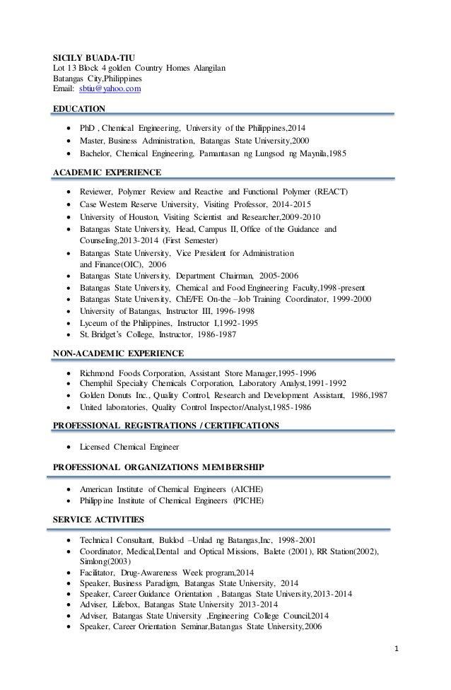 linkedin resume