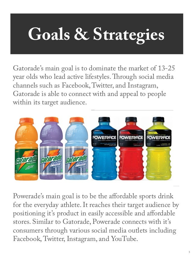 powerade marketing campaign