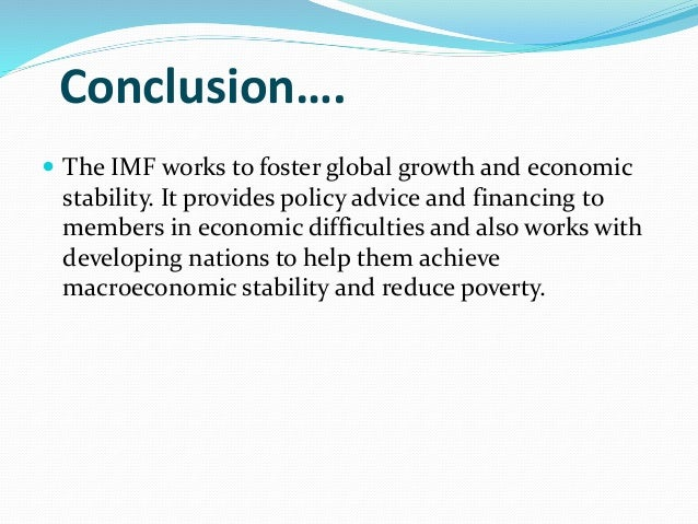 an analysis of the international monetary fund In recent months, the international monetary fund (imf) has announced   guinea, and liberia1 by making these funds available, the imf aims to   cholera epidemic in yemen, 2016–18: an analysis of surveillance data.