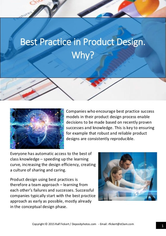 Product development best practice why oct 2015 for Best product development companies