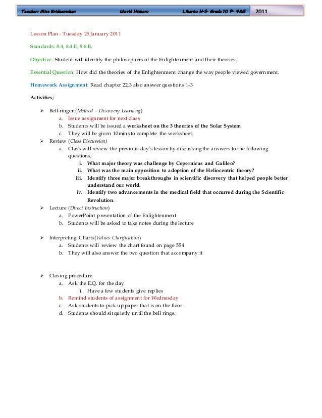 answers to world history homework