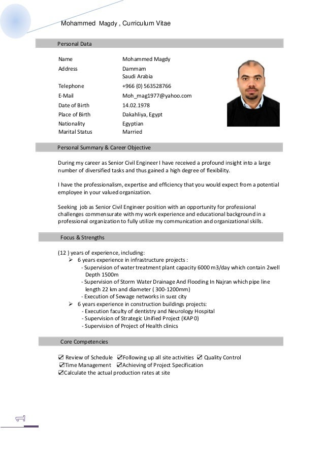 mohamed magdy resume english