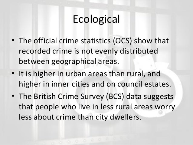 ecological theory of crime pdf