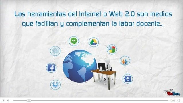 5 casos de como un docente puede utilizar las herramientas web 2.0 #web20
