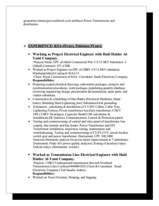 engr zeeshan s resume ksa