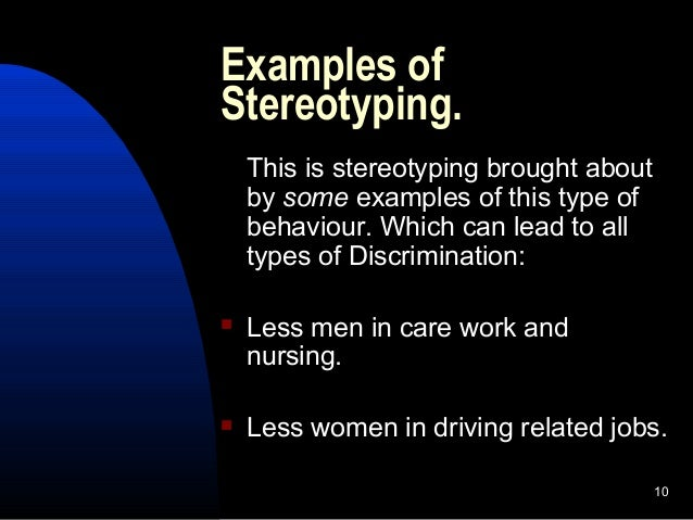 stereotypes racism and simple assumptions Race-based stereotypes and myths pose a great threat to racial equality that's because they can lead to prejudice and hatred, which, in turn, lead to discrimination against entire ethnic groups the people who make up any given racial group are so unique that no generalization can capture who.