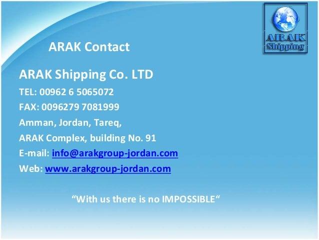 ARAK SHIPPING