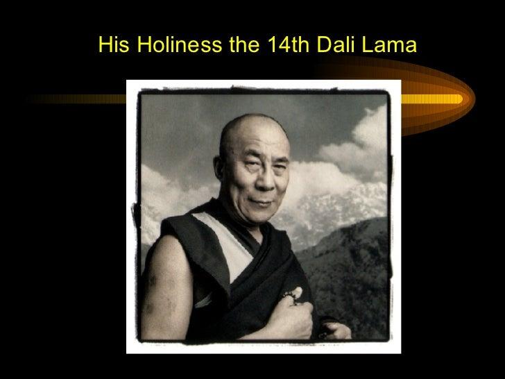 His Holiness the 14th Dali Lama