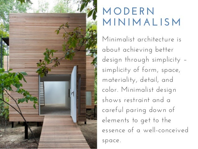 Characteristics of modern minimalist house designs 5 2 modern minimalism minimalist architecture