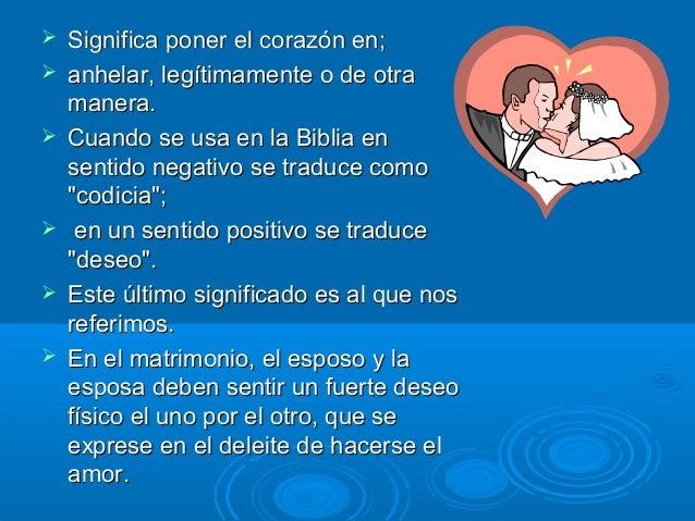 Matrimonio En La Biblia Significado : Amor clases