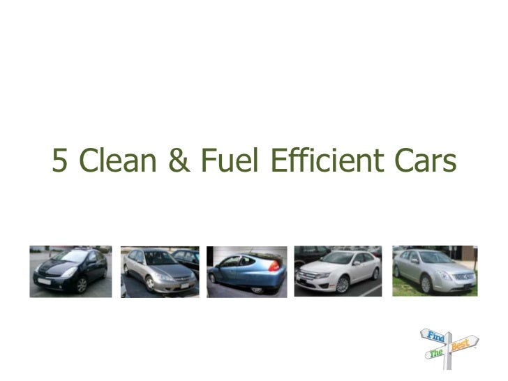 5 Clean & Fuel Efficient Cars<br />