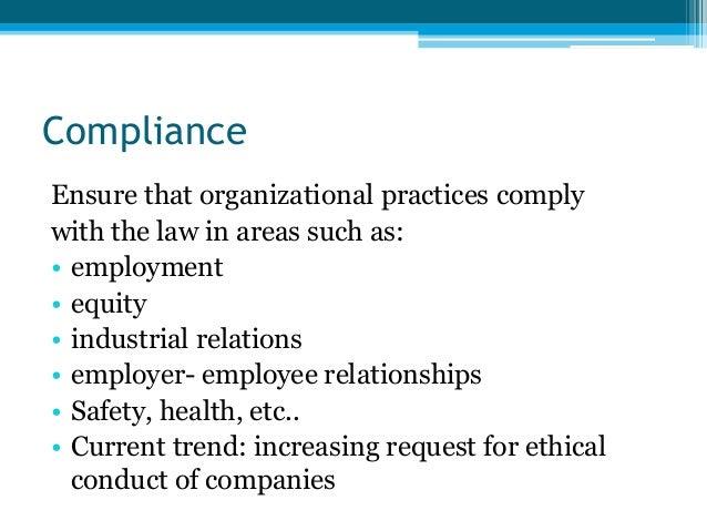 Compliance Client Satisfaction Culture Management Cost Control Contribution 4