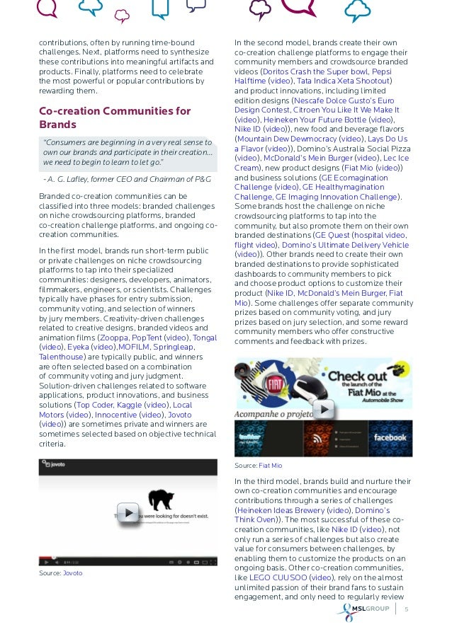 #5 Co-creation Communities - Ten Frontiers for the Future of Engagement