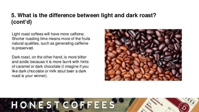 Charming Light Roast Coffees Will Have More Caffeine.