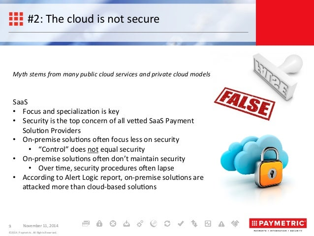 5 Common Misconceptions About Payments in the Cloud