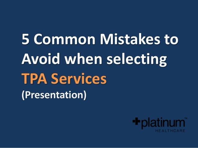 5 common mistakes to avoid when selecting a Third Party ...